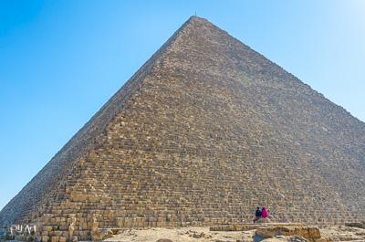 Pilart references Pyramid Egypt couple