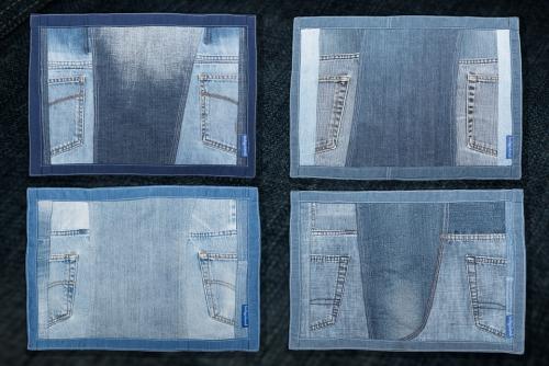 Indigoland Brigitt Landolt Jeans Designe Products Tischset
