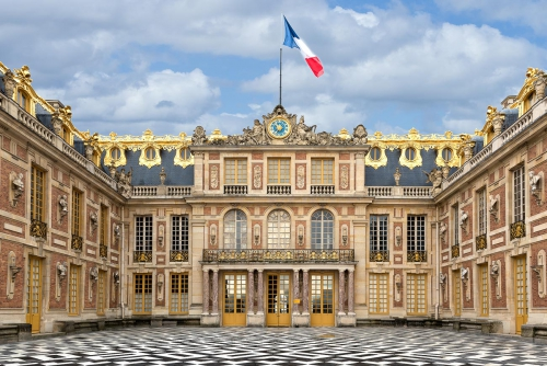 France Versailles Palace Court Yard